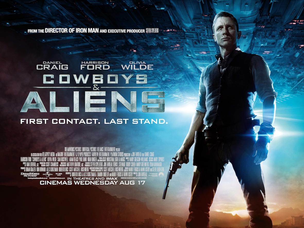 「Cowboys & Aliens」の画像検索結果